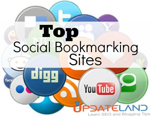 Latest Social Bookmarking Sites List