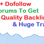 500+ DoFollow Forums Posting Sites List to Get High Quality Backlinks