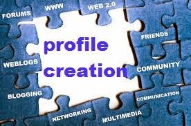 ����� ����� ����� ������ Profile Creatin Sites
