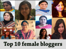 top10 most popular female bloggers