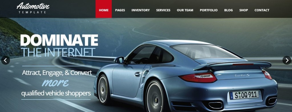 Automotive best wordpress theme