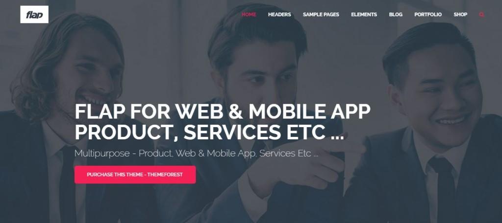 Flap-Wordpress-Business-Theme