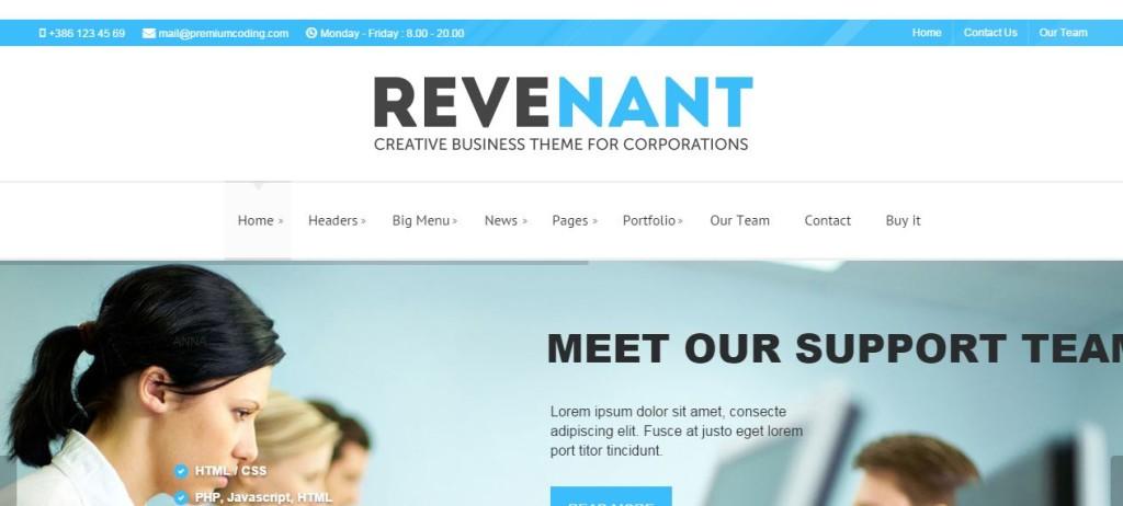 Revenant-Wordpress-Business-Theme