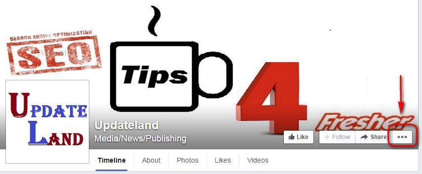 Report Facebook Fan Page