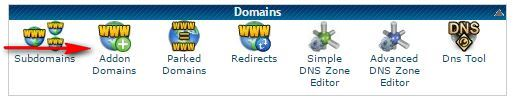 domain section