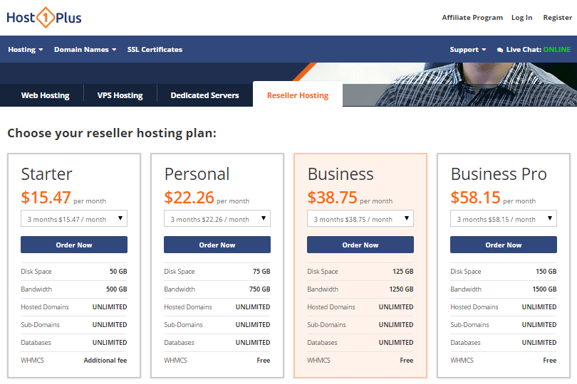 How to run web hosting reseller business plan
