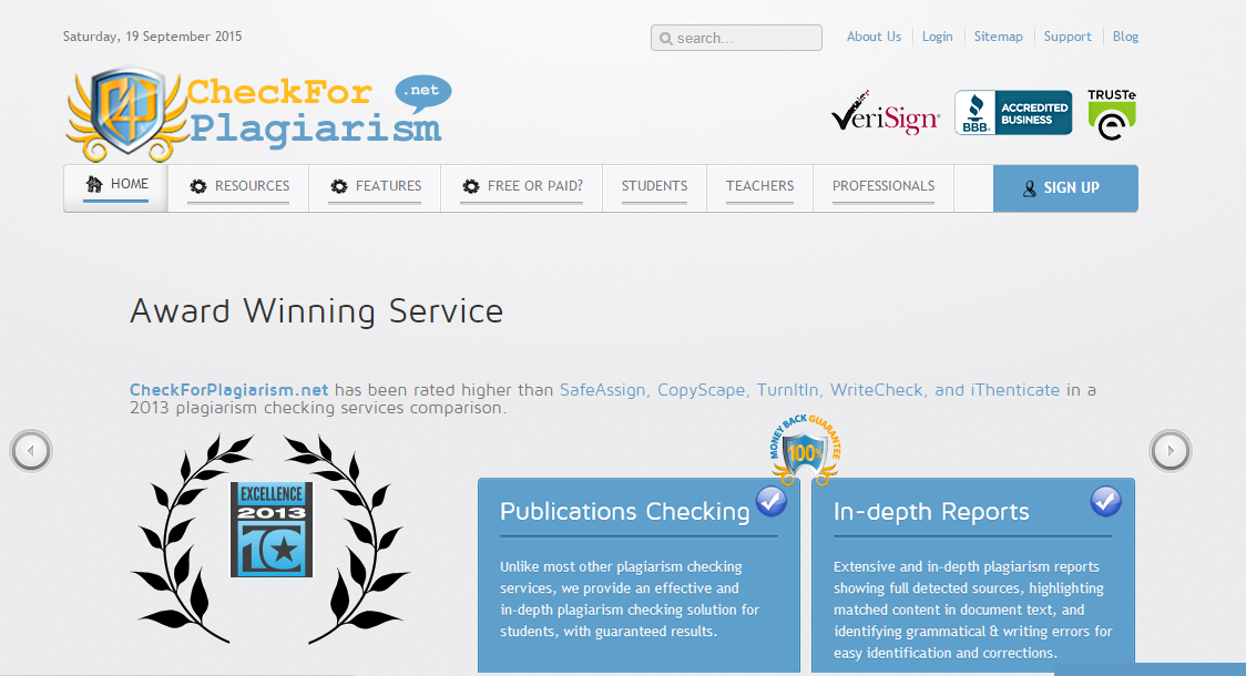 Plagiarism Checker - Small SEO Tools