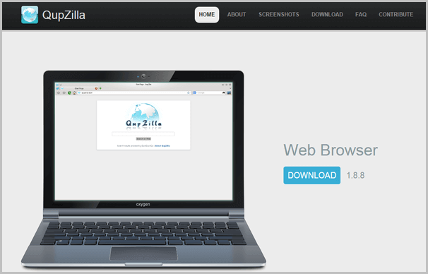 Qupzilla-fast-browser