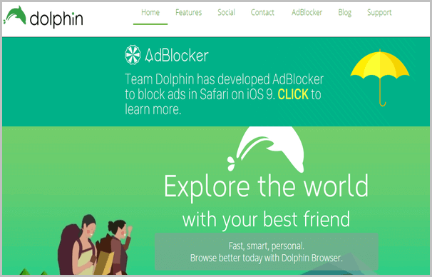 dolphin-free-web-browser