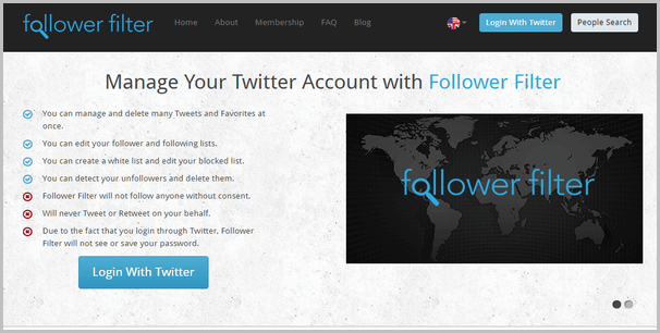 Follow-Filter-twitter-unfollow-tool
