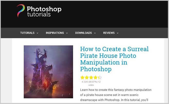 Photoshop-Tutorials-site-to-get-paid-to-write-articles