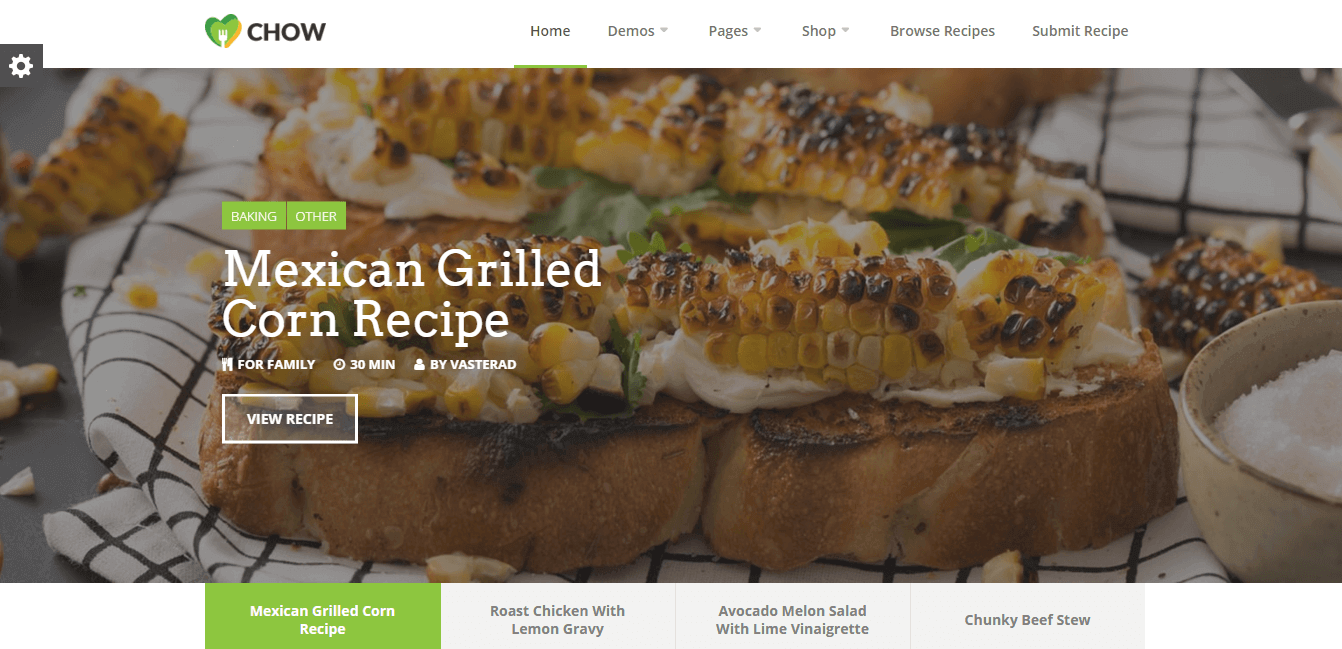 Chow-wordpress-recipe-theme