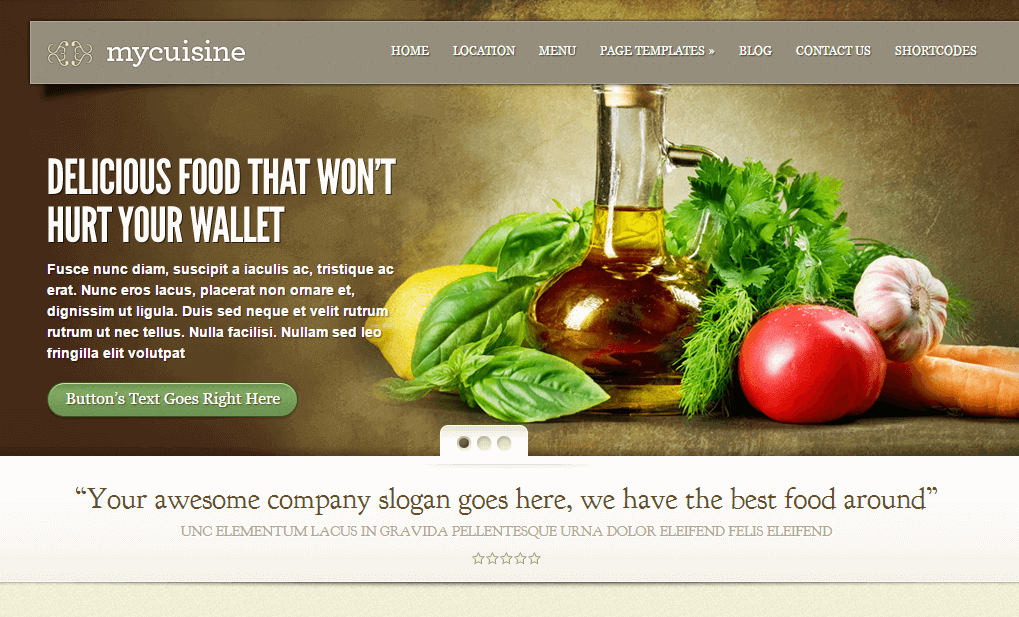 Mycusime-wordpress-food-theme