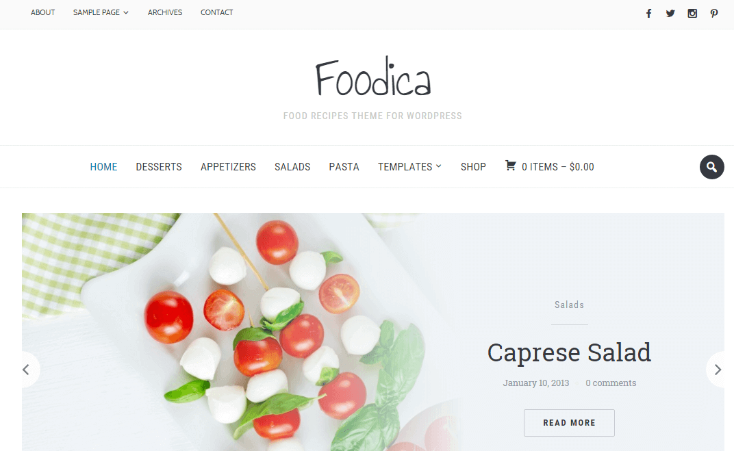foodica-recipes-wordpress-theme