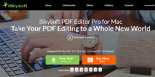 iSkysoft PDF Editor Pro for Mac Review: Experience a Whole New World of PDF Editing