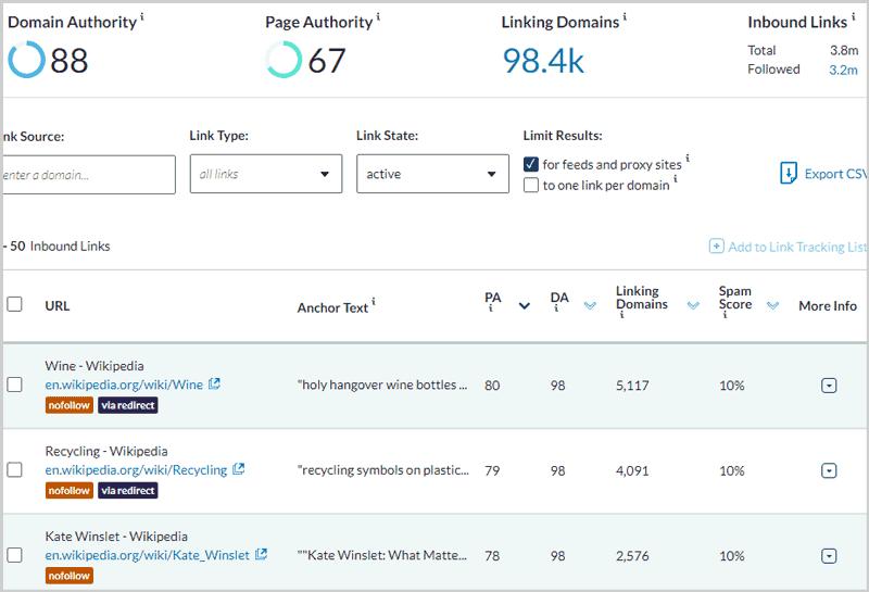 moz website checker