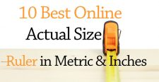 Online Actual Size Ruler