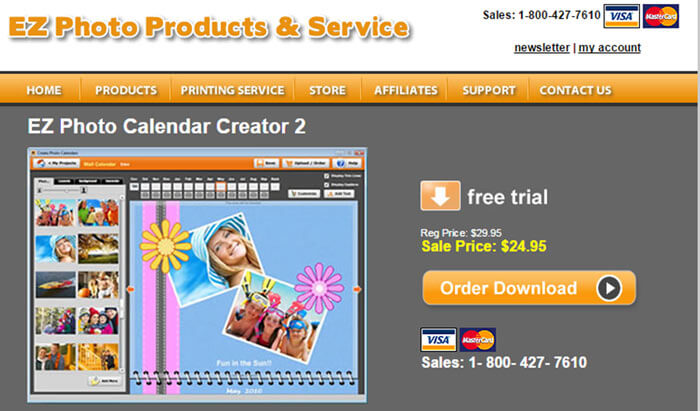 EZ Photo Calendar Creator 2