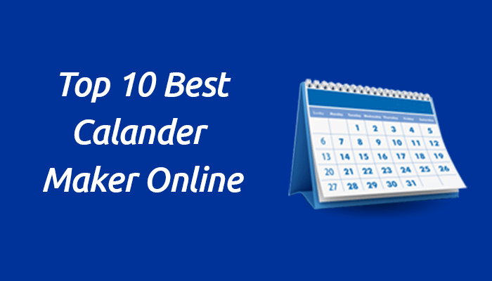 10 best online calendar maker 2019 free and paid