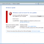 How to Fix Windows Update Error 80072ee2