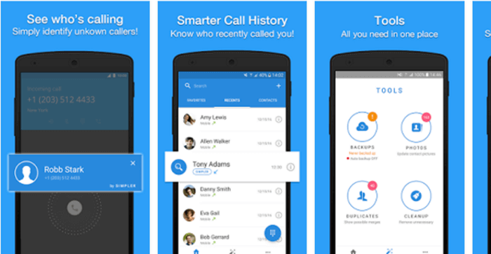 Contacts & Dialer by Simpler