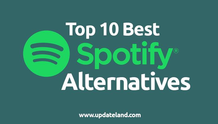 Spotify Alternative
