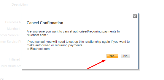 cancel automatic payments paypal