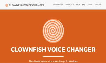 Clownfish Voice Changer For Skype
