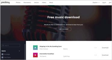 Pixabay free music download