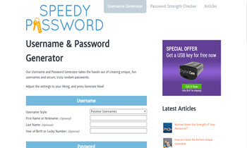 Speedy Password