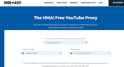 unblock proxy server video