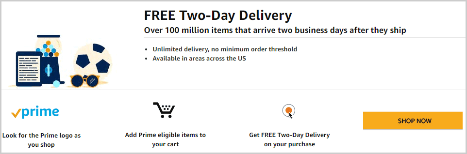 Free Two Day Delivery