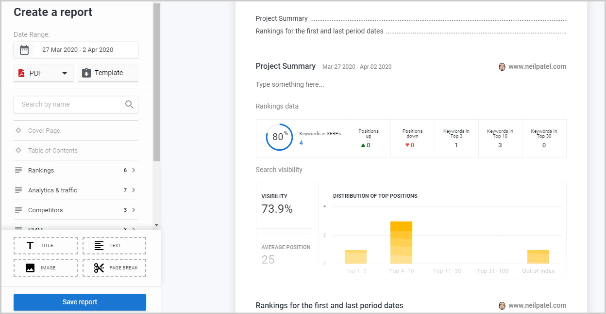 Report Builder