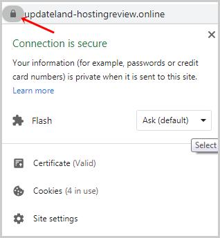 Kinsta Free SSL Certificate