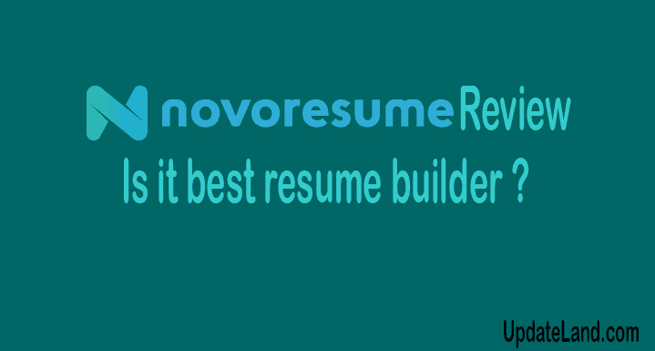Novoresume Review