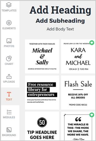 DesignCap Text