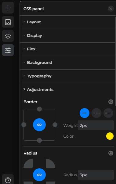 Boxmode CSS Panel
