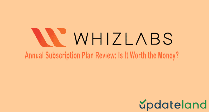 Whizlabs Annual Subscription Plan Review