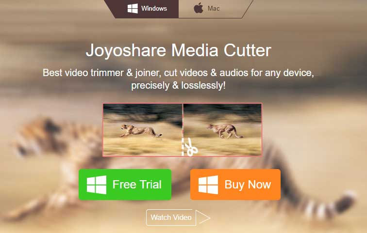 Joyoshare Media Cutter Review