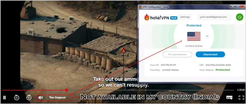Unblock Netflix with HolaVPN