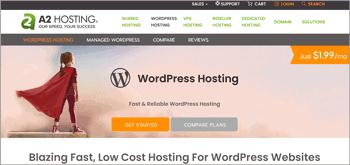 A2 Hosting WordPress