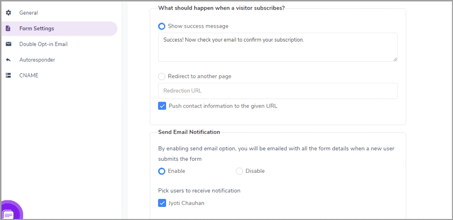 customize elements with engagebay