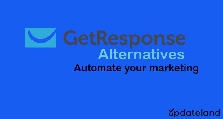 Best GetResponse Alternatives