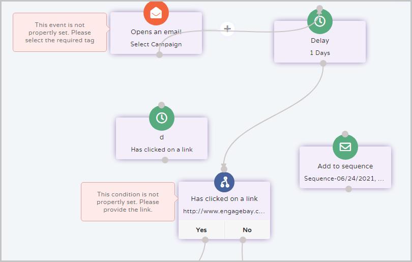 EngageBay-workflow