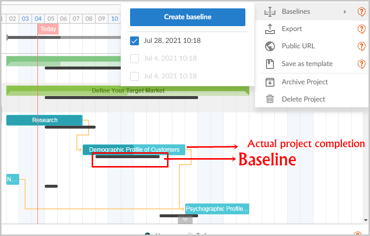 GanttPro Baseline