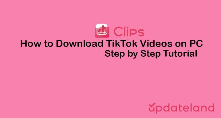 How to download TikTok Videos on PC