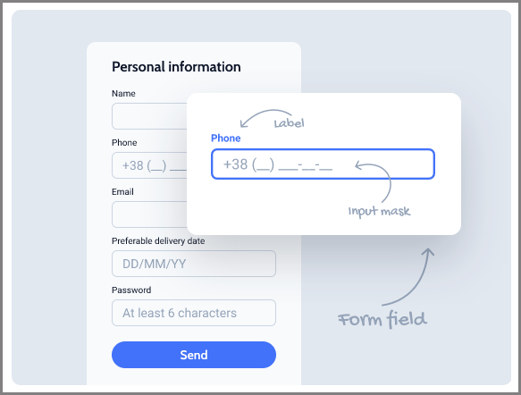 pre-filling values dynamically on the frontend