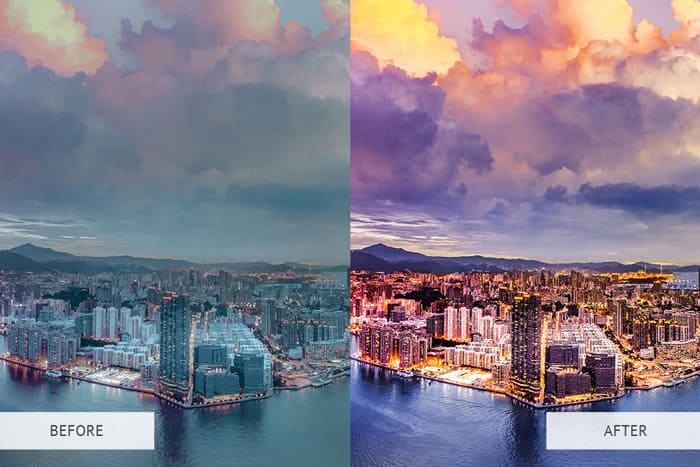 HDR Effect Instagram Photoshop Actions