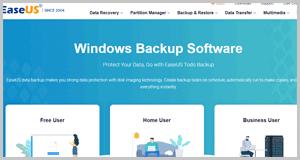 EaseUS backup software 2021