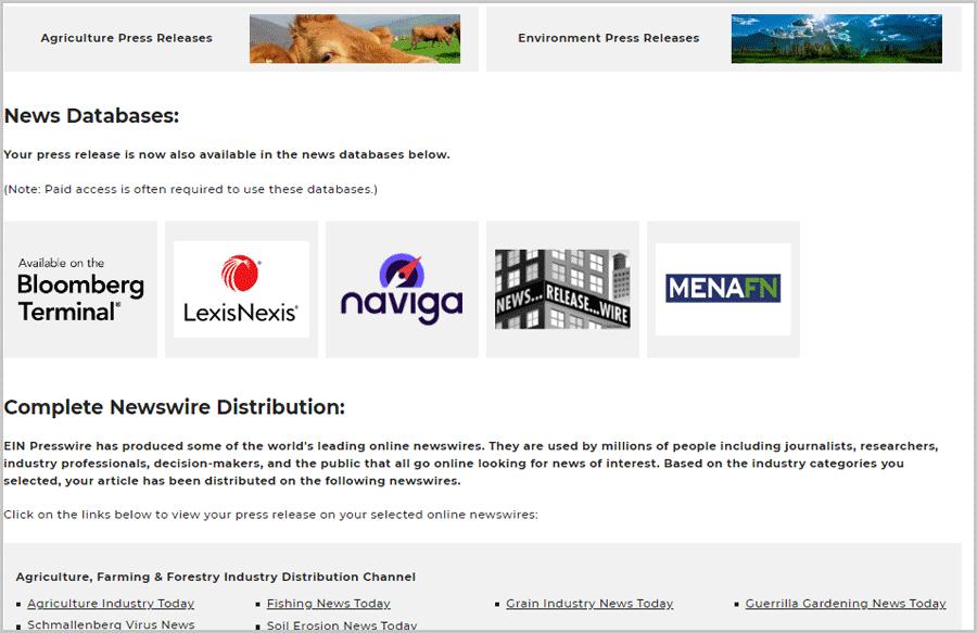 Best PR Release services